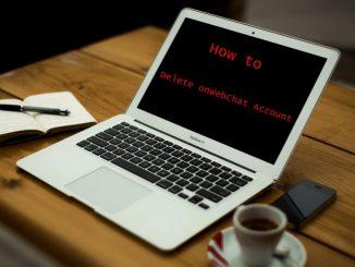 How to Delete onWebChat Account - Deactivate onWebChat Account