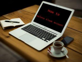 How to Delete Klook Account - Deactivate Klook Account