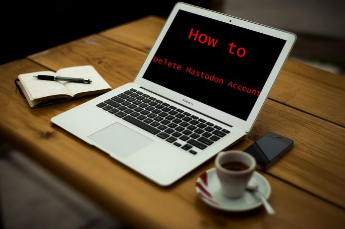 How to Delete Mastodon Account - Deactivate Mastodon Account