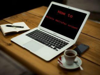 How to Delete Metrofax Account - Deactivate Metrofax Account