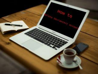 How to Delete DeviantArt Account - Deactivate DeviantArt Account