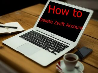 How to Delete Zwift Account - Deactivate Zwift Account