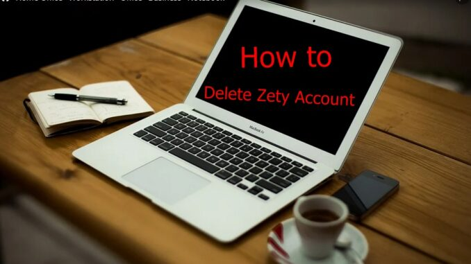 How to Delete Zety Account - Deactivate Zety Account