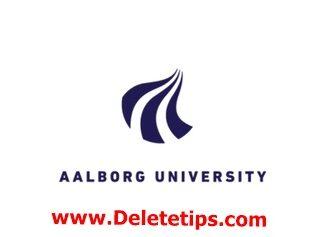 Aalborg University Nordplus Scholarships Denmark, 2021