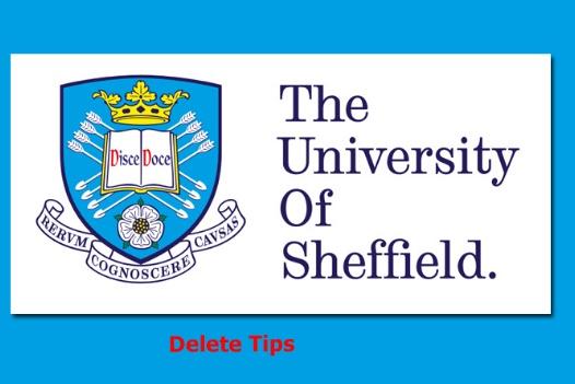 University of Sheffield Scholarship Award UK, 2021-22