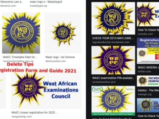 WAEC Registration Form and Guide 2021
