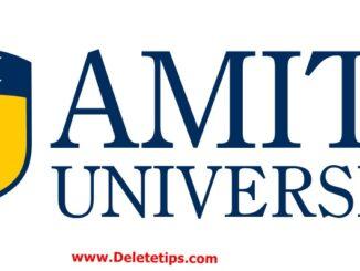 Amity University London Offers Atul Chauhan Scholarships UK, 2021