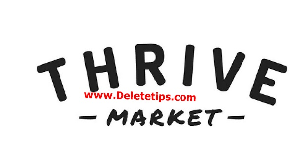 How to Delete Thrive Market Account - Deactivate Account.