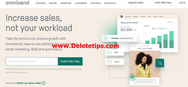 How to Delete Omnisend Account - Deactivate Omnisend Account.