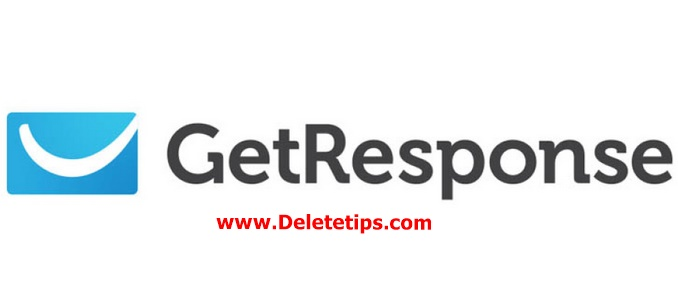 How to Delete Getresponse Account - Deactivate Getresponse Account.