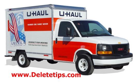How to Delete U-Haul Account - Deactivate U-Haul Account.